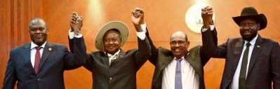 Khartoum declaration signatories