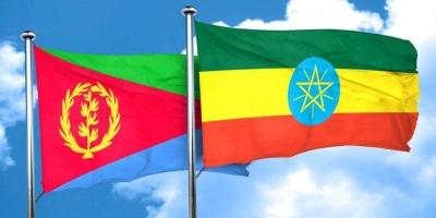 Eritrea Ethiopia flags