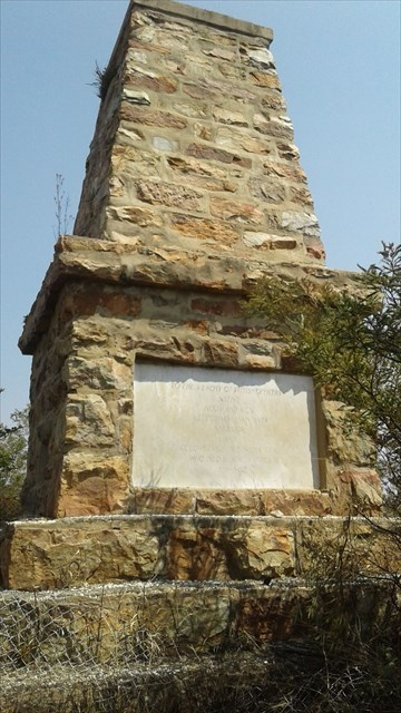 Indian army memorial Johannesburg