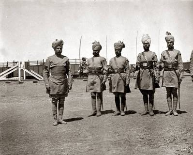 Indian troops SA