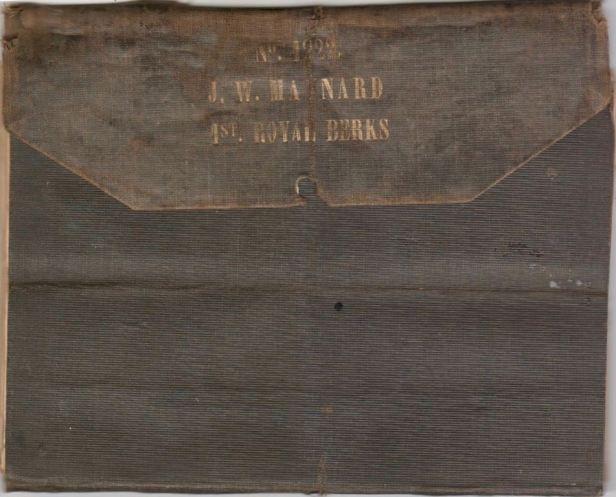 John William Maynard, 1st Royal Berks