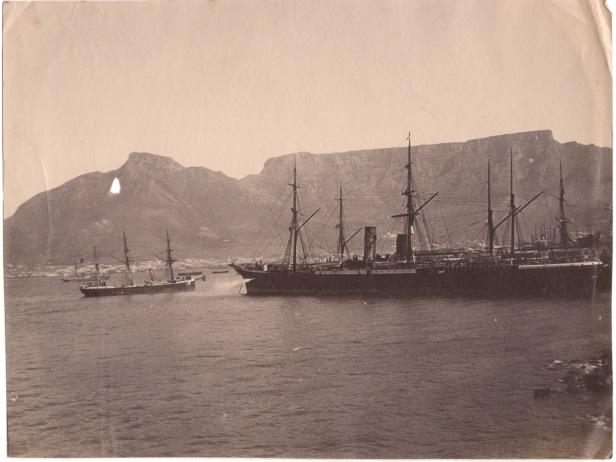 Cape Town Docks 1890s