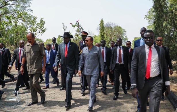 Juba photograph of leaders