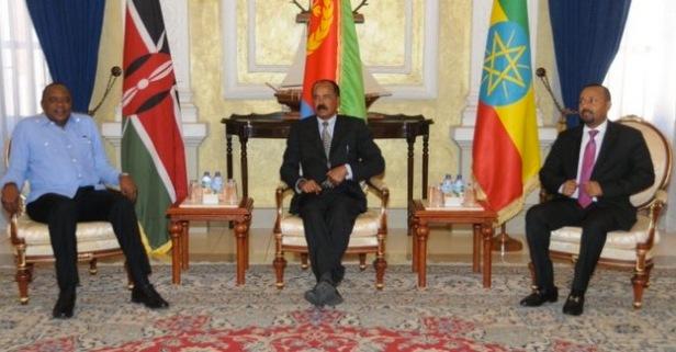 Kenyatta, Isaias, Abiy