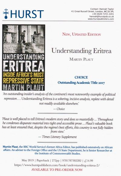 Understanding Eritrea - New updated edition
