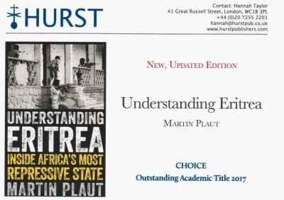 Understanding Eritrea - New, updated edition