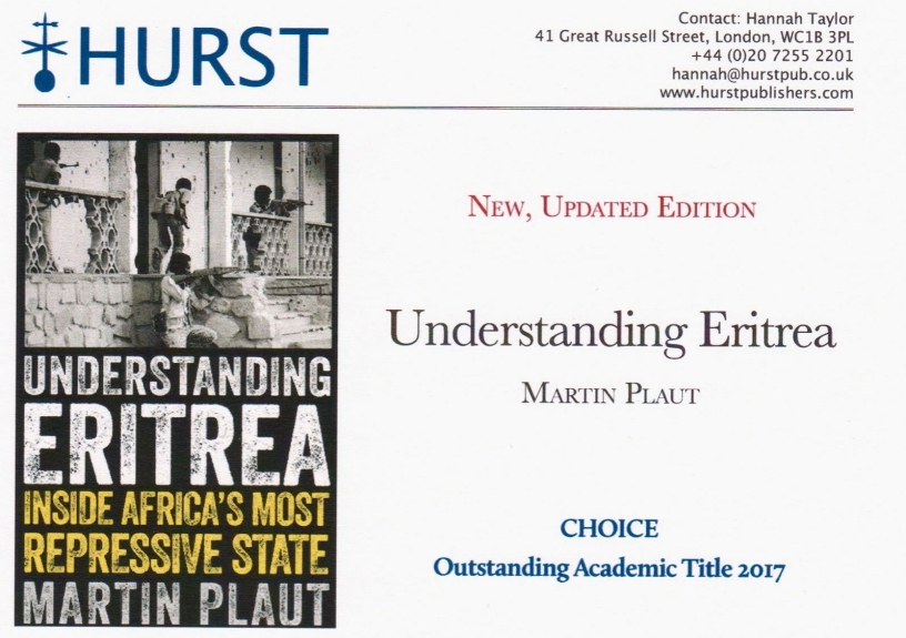 Understanding Eritrea - New, updated edition