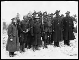 Group of black African Non-Commissioned Officers