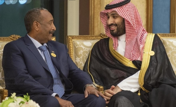 Burhan meets Saudi Crown Prince