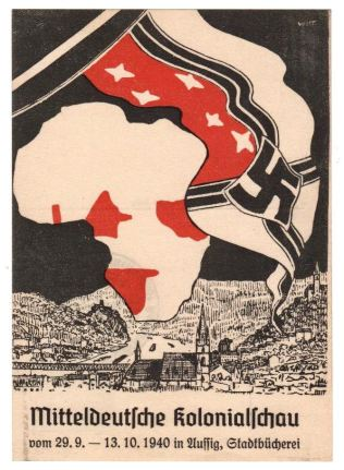 Nazi demand for African Colonies