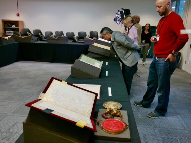 Treaties that ended First World War, Archive Kew