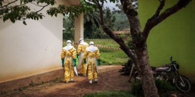 MSF health workers Congo in Ebola crisis