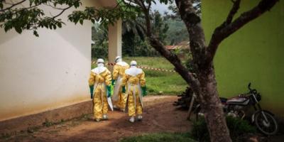 MSF health workers Congo in Ebola crisis