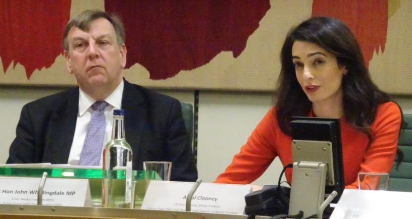 Commonwealth Media Freedom Seminar at the House of Commons