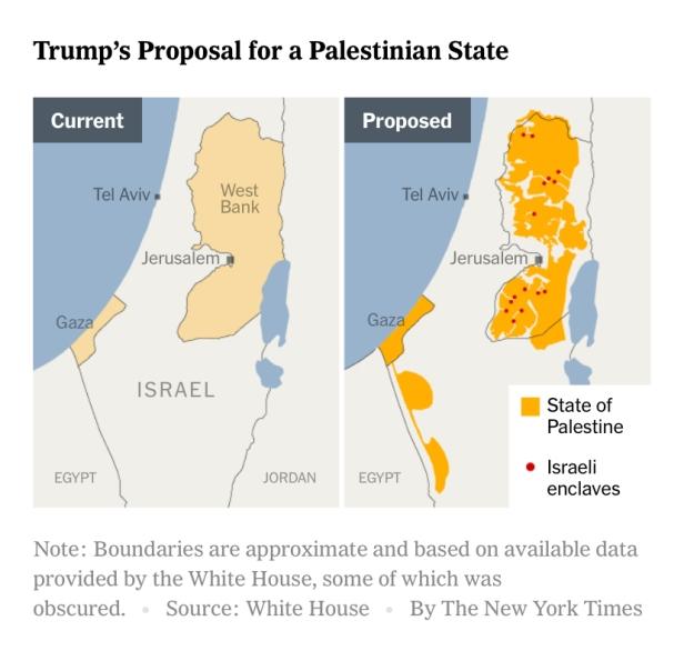 Trump Plan Map