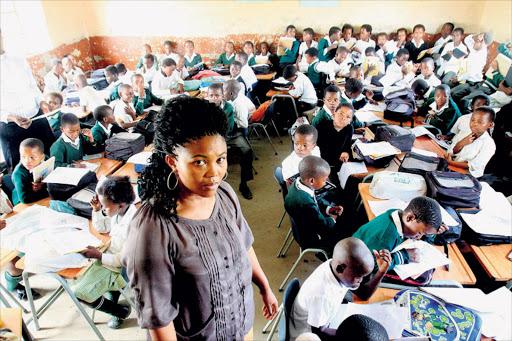 SA Classroom overcrowded