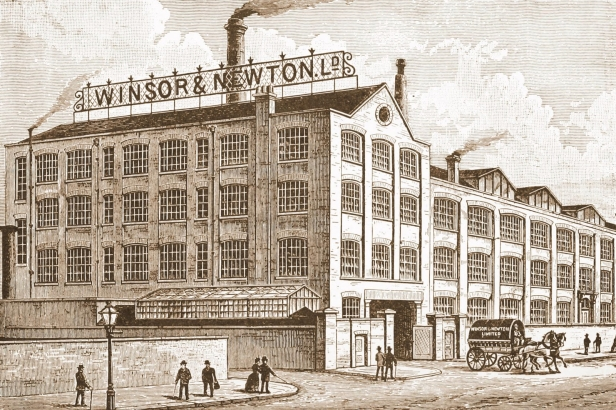 Winsor & Newton North London Color Works Kentish Town