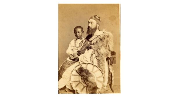Prince Alamayu and Captain Speedy