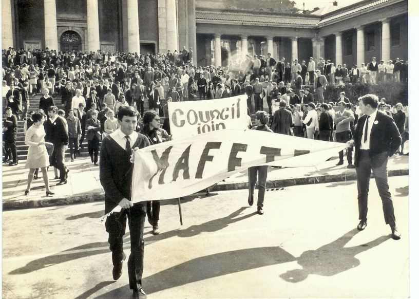 Students at UCT join protest against the non-appointment of Archie Mafeje