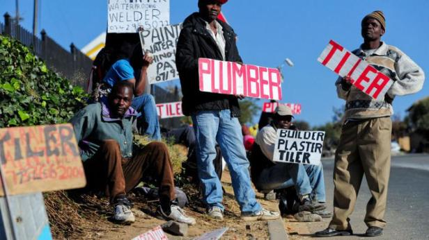 South Africa Unemployed