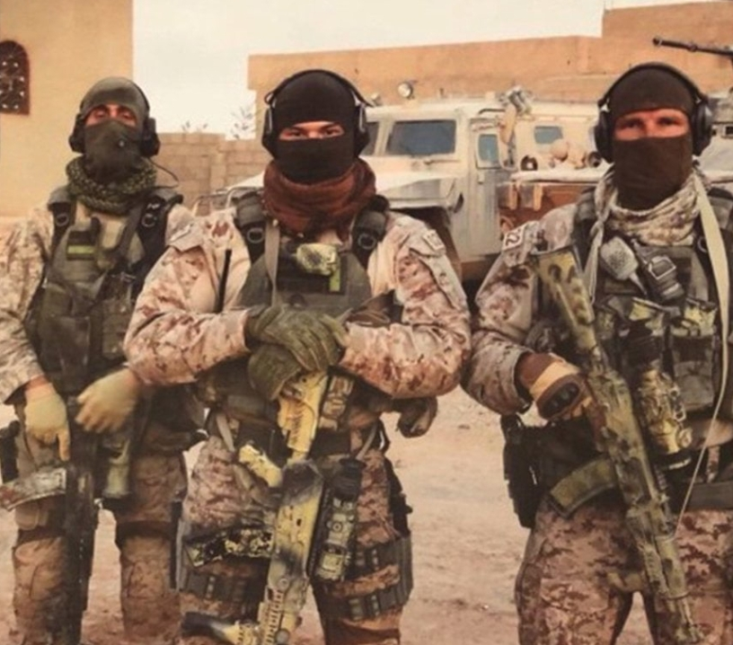 Russian Wagner troops in Libya