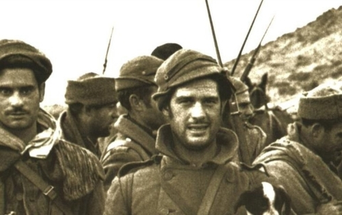 Battalion of an International Brigade, Spain, 1937.
