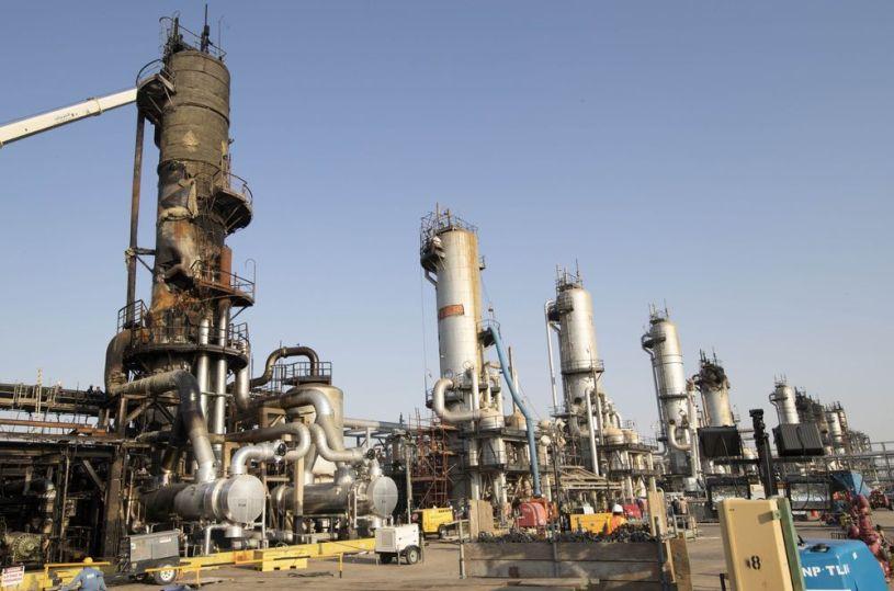 Saudi Oilfield