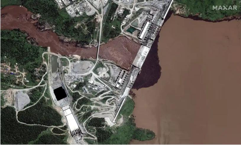 Grand Renaissance Dam GERD Nile
